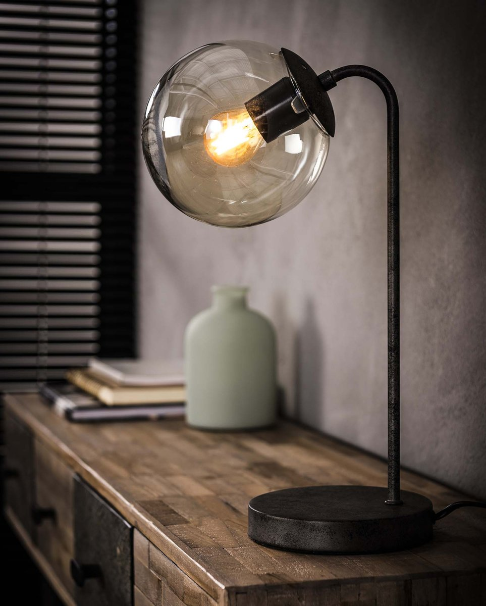 LifestyleFurn Tafellamp 'Kemal' met glazen bol