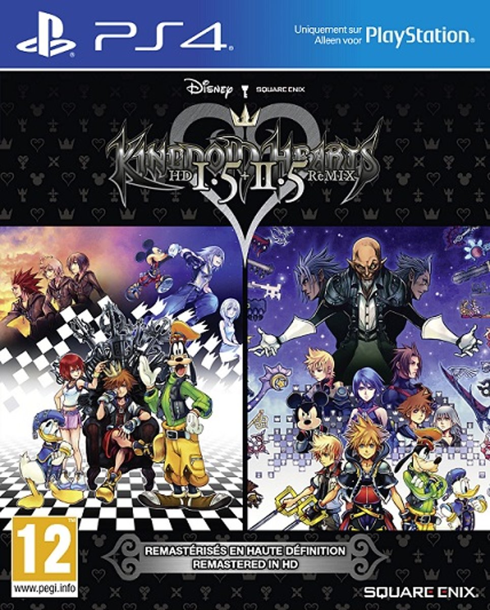 Kingdom Hearts HD 1.5 & 2.5 Remix PlayStation 4