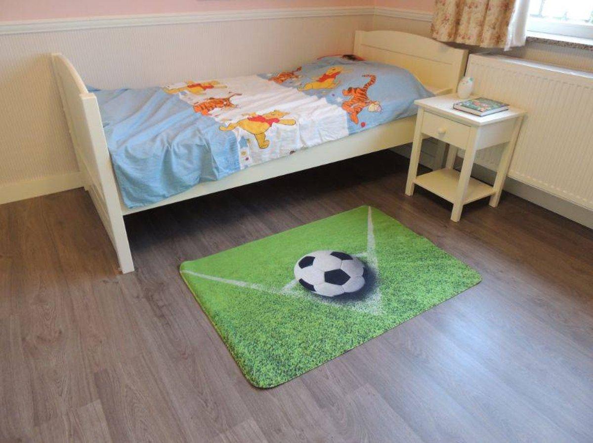 Genoeg bol.com   Vloerkleed jongens voetbal 80x120 @PS49