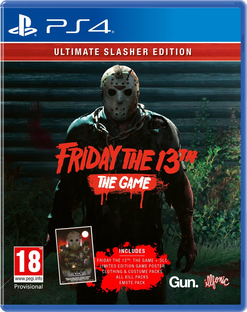 Friday 13Th Ultimate Slasher Edition PlayStation 4