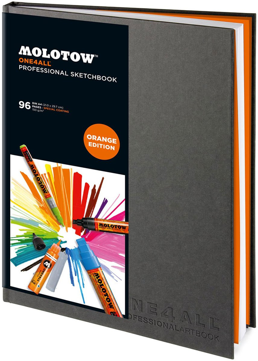Molotow A4 ONE4ALL™ Professional Sketchbook Staand kopen