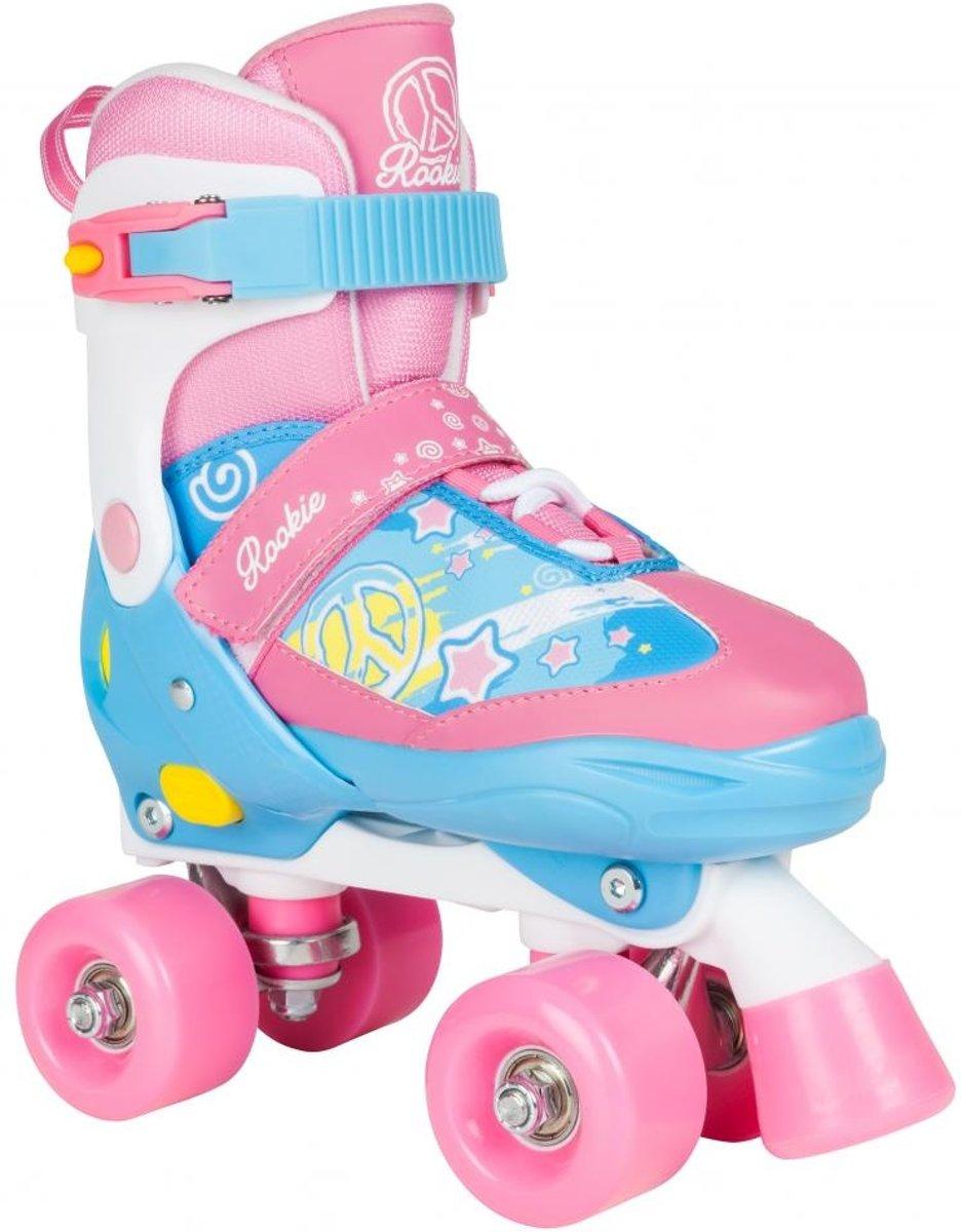 Rookie Skates Verstelbaar Blauw/roze Maat 30,5-34 kopen