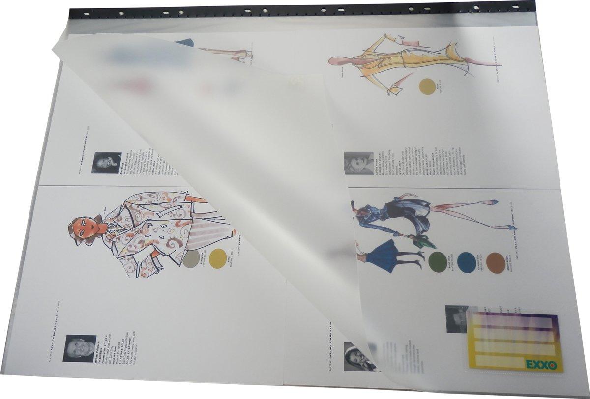 EXXO-HFP #15092 - FLEXY Compact A2 Art show Album 12 Tassen - Zwart - 1 Stuks kopen