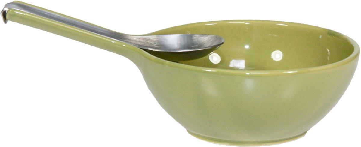 Royal VKB Bowls & Spoons - olijfgroen