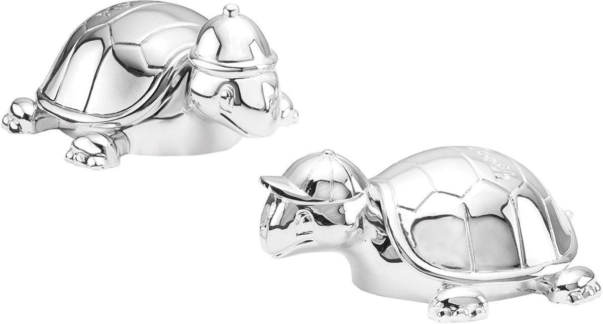 Lucardi - Gift Items - Tandendoosje en haarlokdoosje schildpad