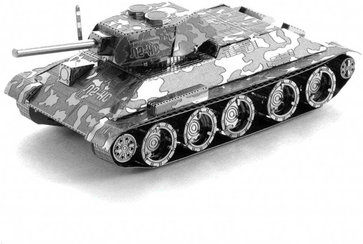 Metal Earth T-34 Tank - 3D puzzel