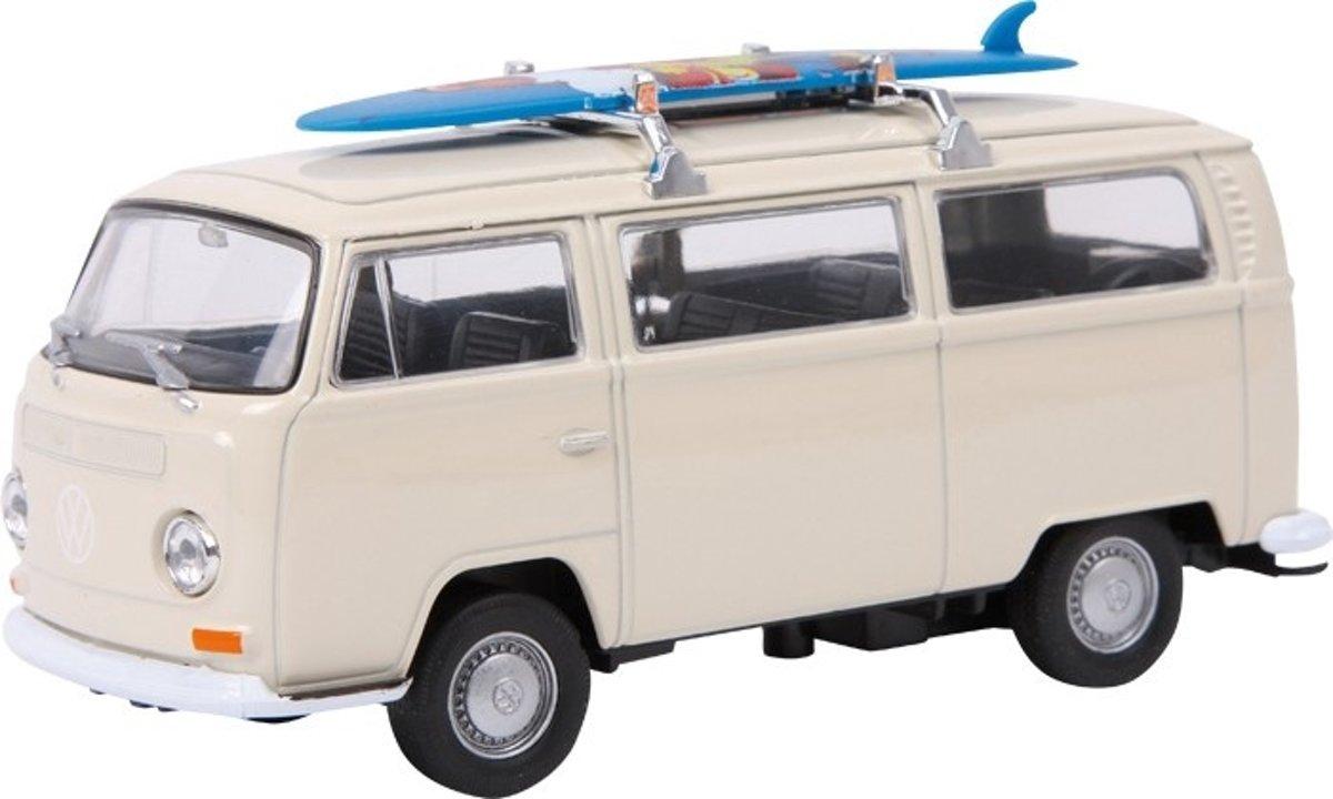 Small Foot Modelauto Volkswagen Bus T2+Surfplank Metaal kopen