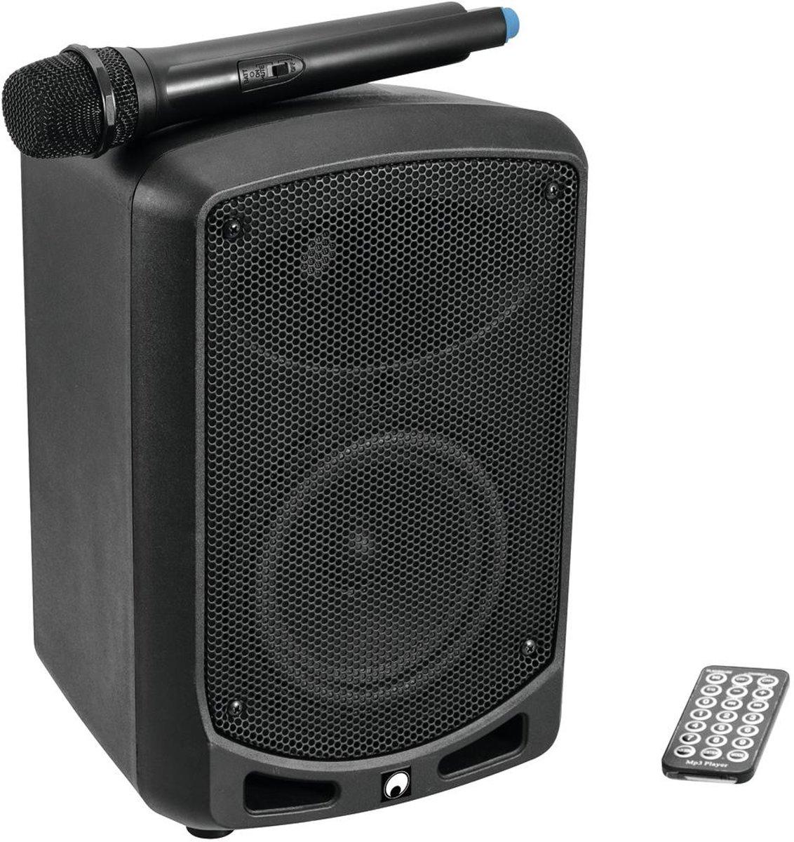 OMNITRONIC Luidspreker met microfoon - WAMS-65BT - Mobiele geluidsset met microfoon en bluetooth kopen
