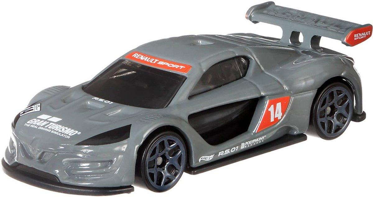 Hot Wheels Gran Turismo Renault Sport R.s. 01 Grijs 7 Cm kopen