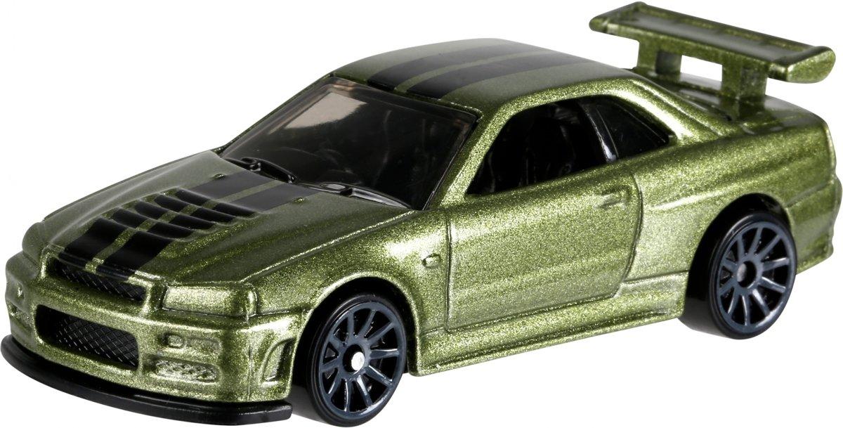 Hot Wheels Nissan Skyline Gt-r Sportwagen 7,5 Cm Groen kopen