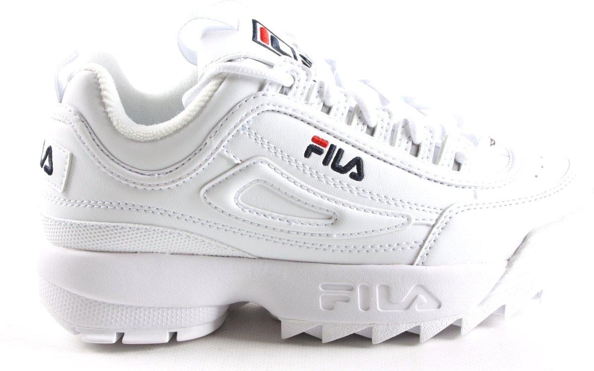 295eafeabf2 bol.com | Fila Jongens Sneakers Disruptor Kds - Wit - Maat 31