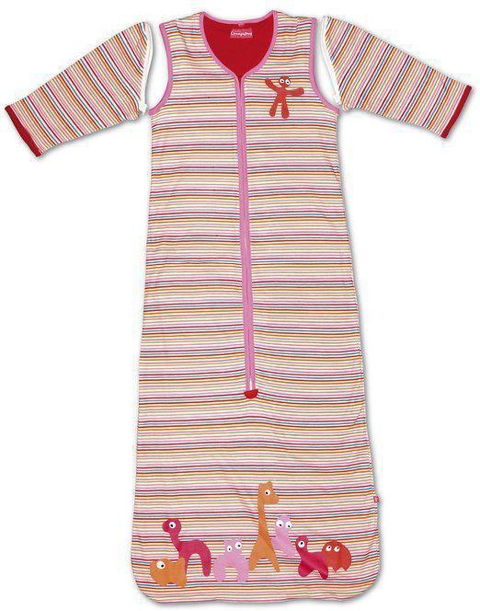 Little Company - Solo Sleeper Stripe Babyslaapzak 80 cm - Roze kopen