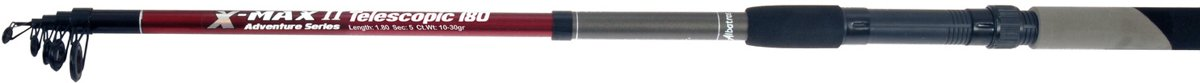X-MAX TELESCOPIC 180/5 10-30GR