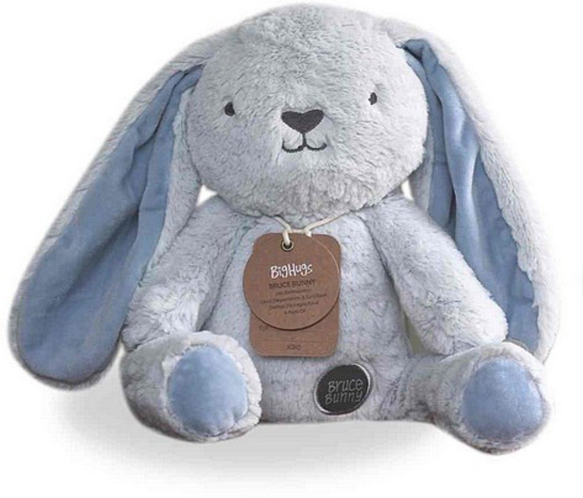 Knuffel konijn Bruce Bighugs O.B. Designs baby-blauw