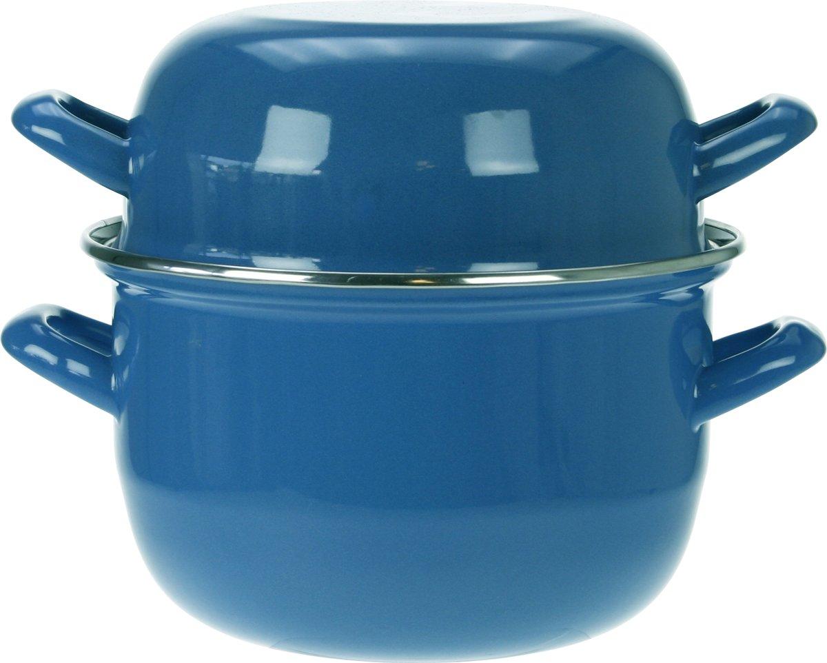 Cosy&Trendy Mosselpan - 2.8 Liter - Ø 18 cm - Blauw