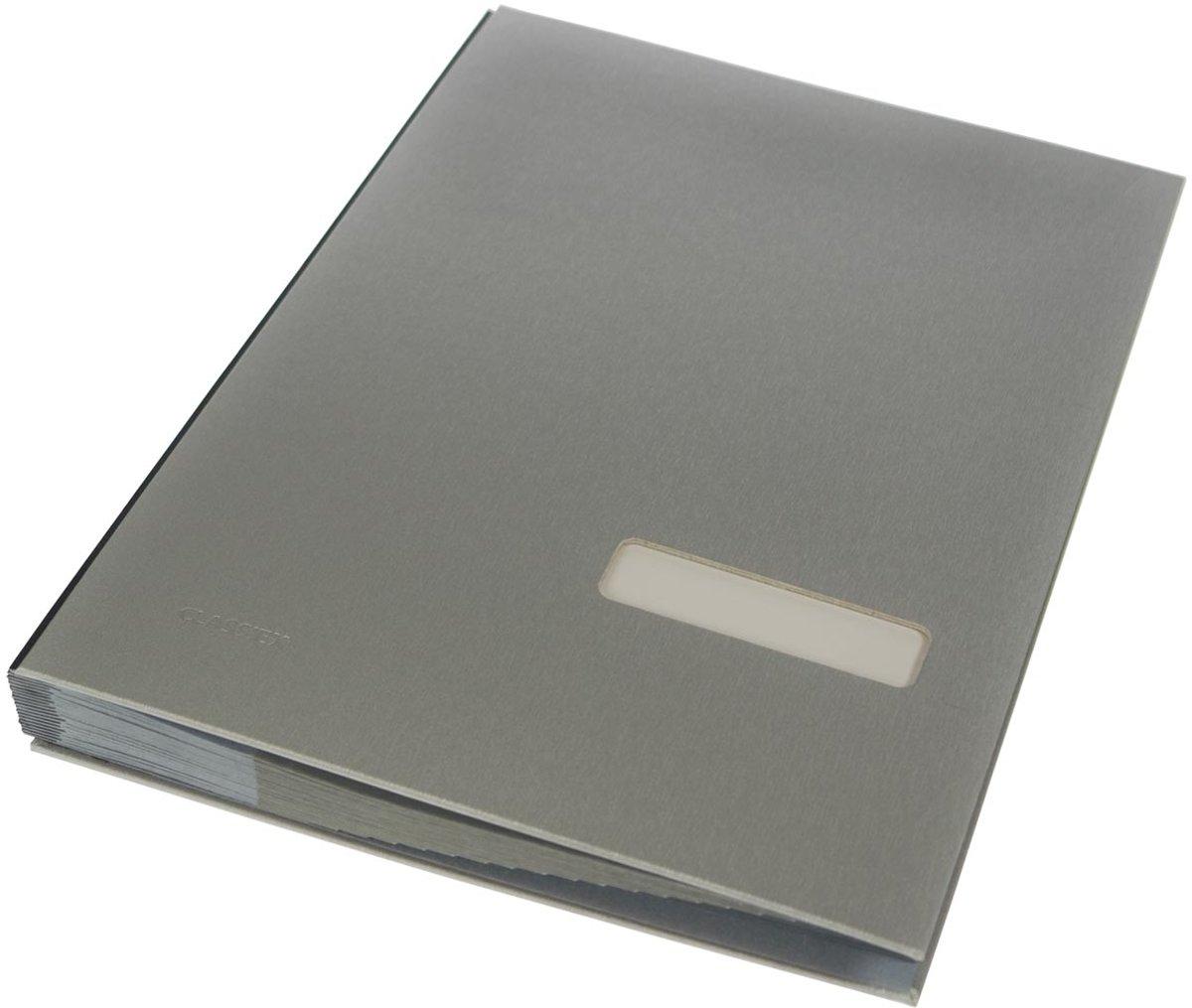 3x Class'ex handtekenmap zilver kopen