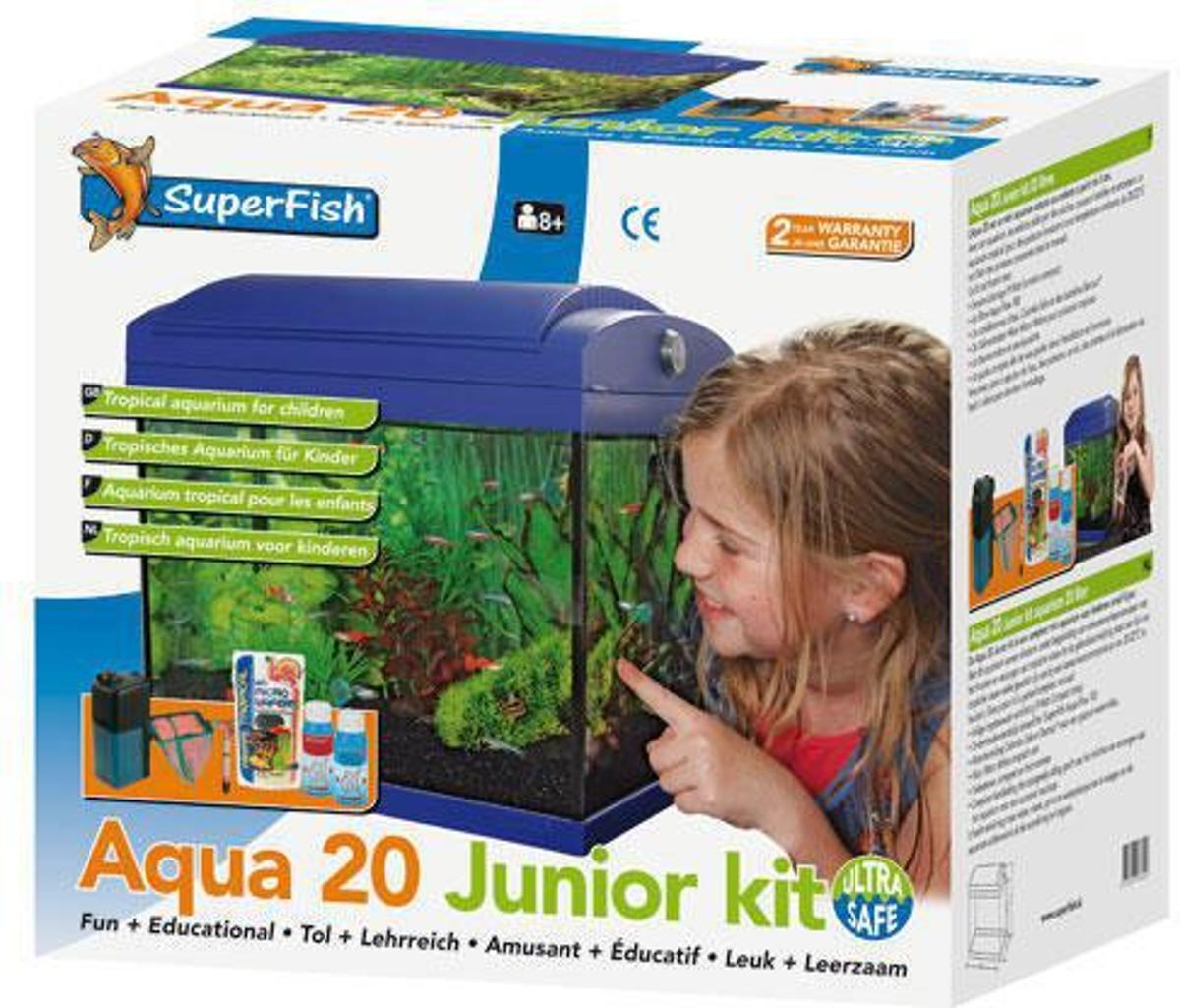 bol.com | Superfish Aqua - 20 Junior Kit