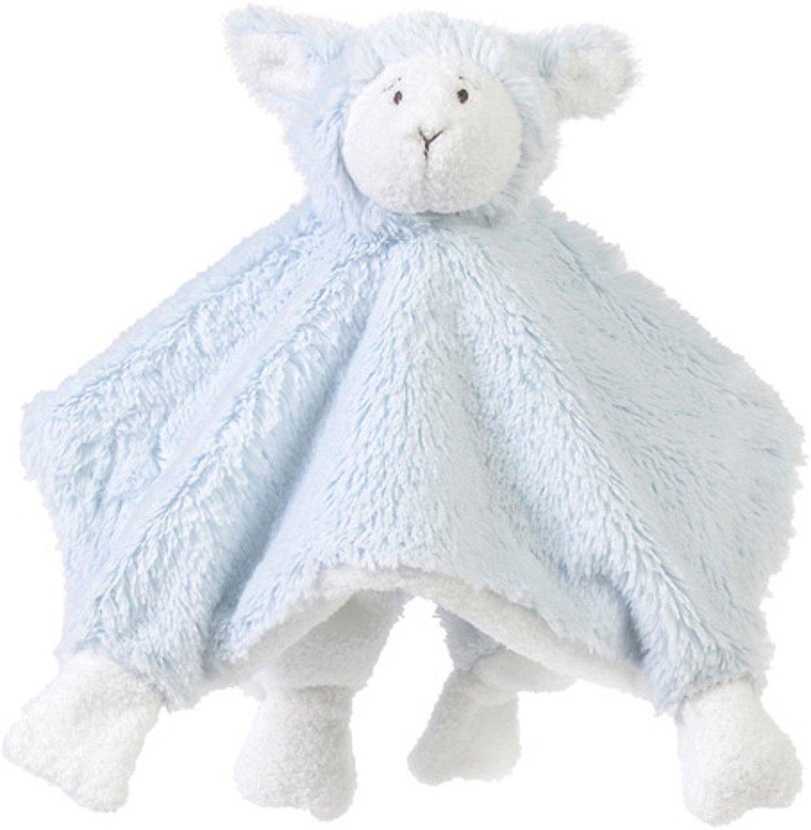 Happy Horse - Schaap Lammy Blauw - Knuffeldoekje