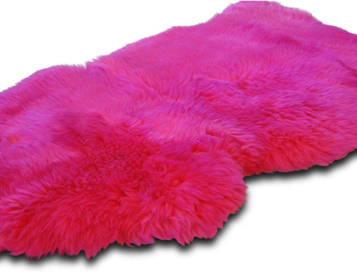 Schapenvacht - kleur: fuchsia (Europees) kopen