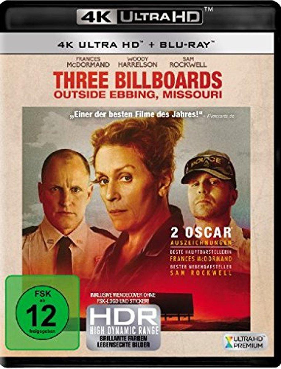 Three Billboards Outside Ebbing, Missouri (Ultra HD Blu-ray & Blu-ray)-