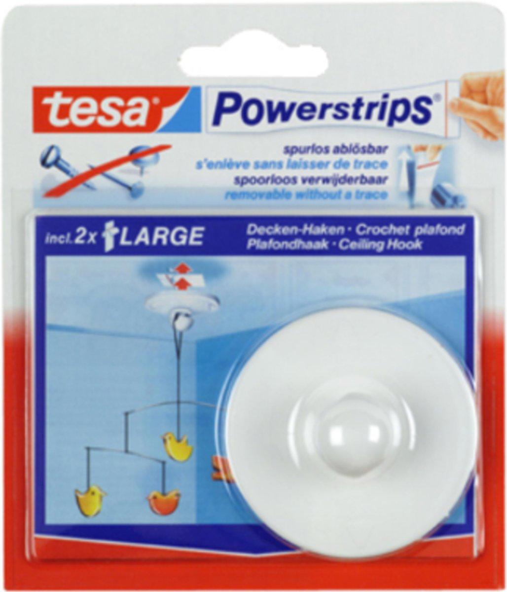 Bolcom Tesa 58029 Powerstrips Plafondhaak Wit