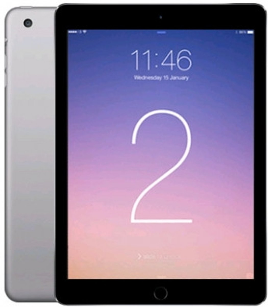 iUsed Refurbished (MGKL2) iPad Air 2 - 9,7 inch - 64 GB - WiFi - Space Gray