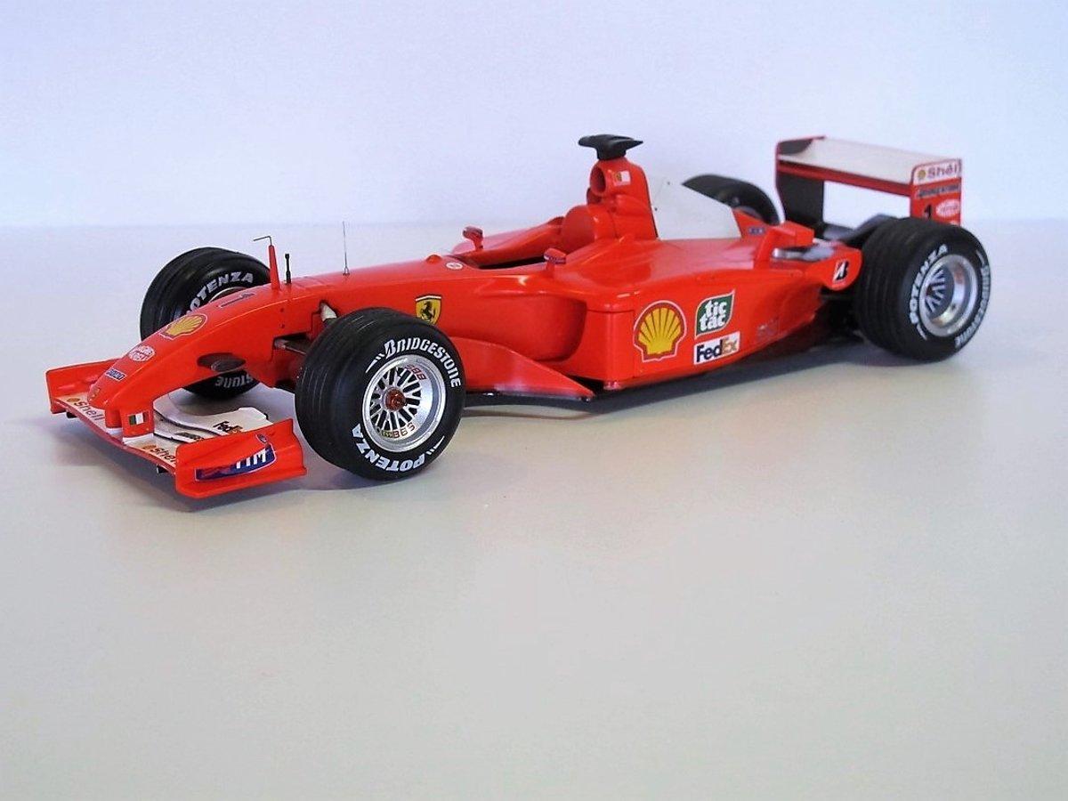 Ferrari 599 Gto 143 Hotwheels Elite Zwart T6932 Fxx Michael Schumacher F1 F2001 118