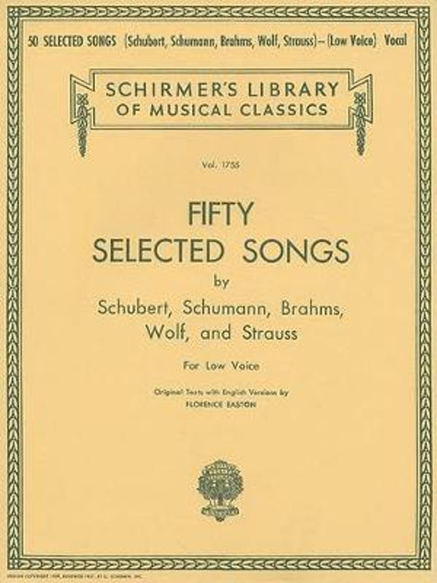 bol.com | 50 Selected Songs (Low Voice), Hal Leonard Publishing Corporation  | 9780793553501 | Boeken
