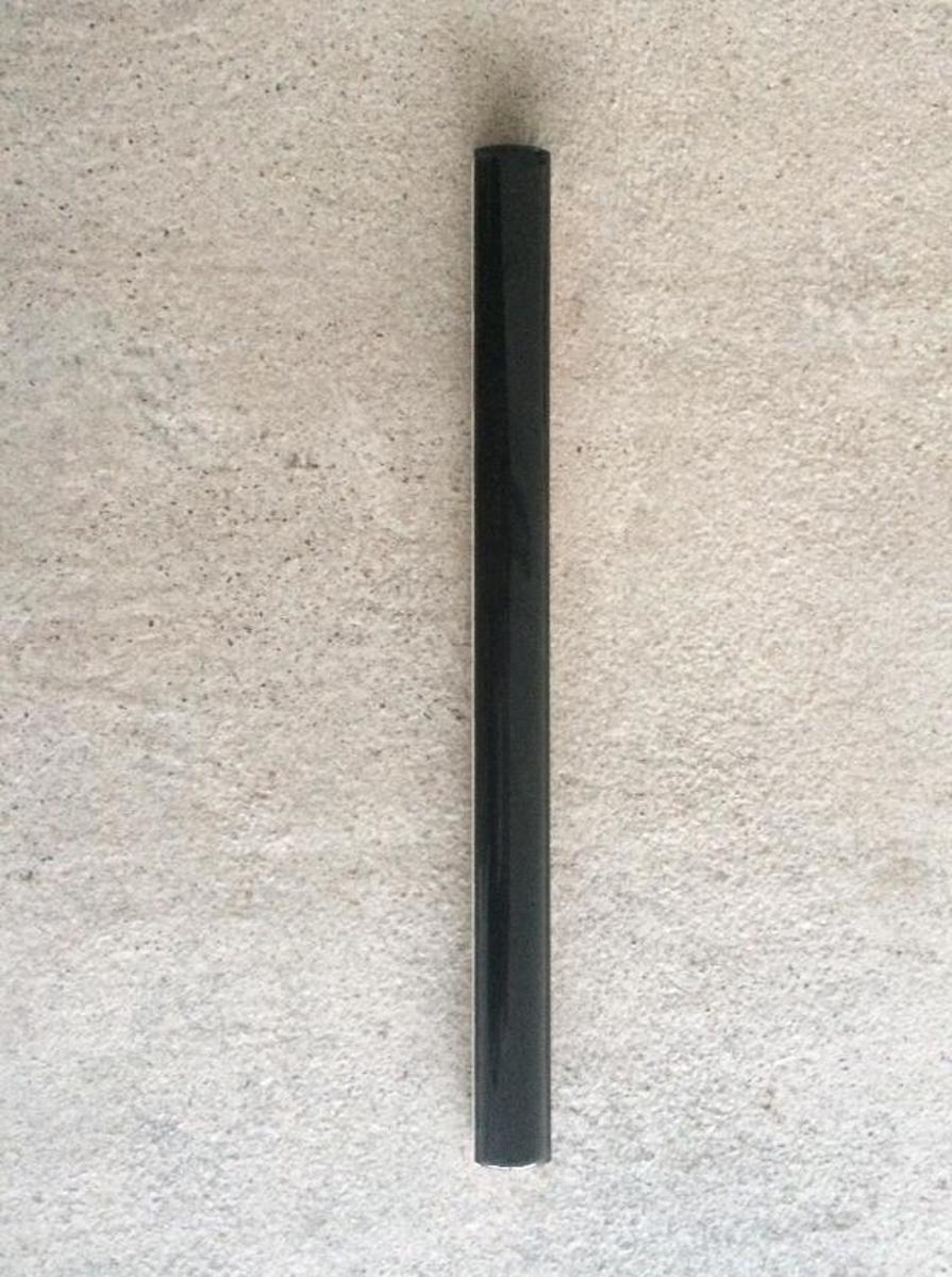 Uitzonderlijk bol.com | Potloodstrip tegelstrip zwart glans 1x20 cm IS51