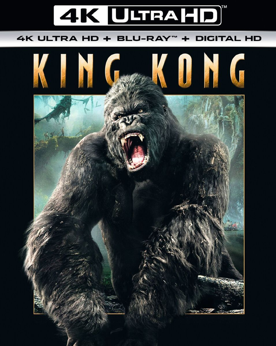 King Kong (2005) (4K Ultra HD Blu-ray)-