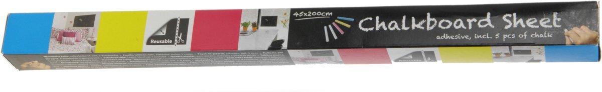 Free And Easy Krijtbordfolie Zwart 45 X 200 Cm kopen