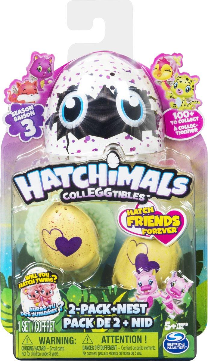 Hatchimals Colleggtibles 2 Pack + Nest - Seizoen 3