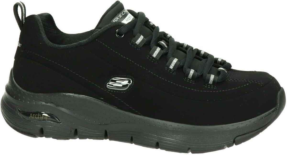 Skechers dames sneaker Zwart Maat 40
