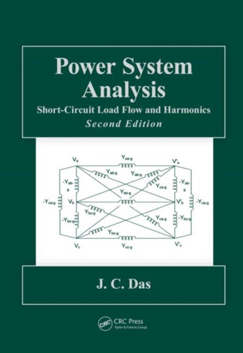 Power System Analysis 9781439820780 J C Das Boeken Shortcircuit