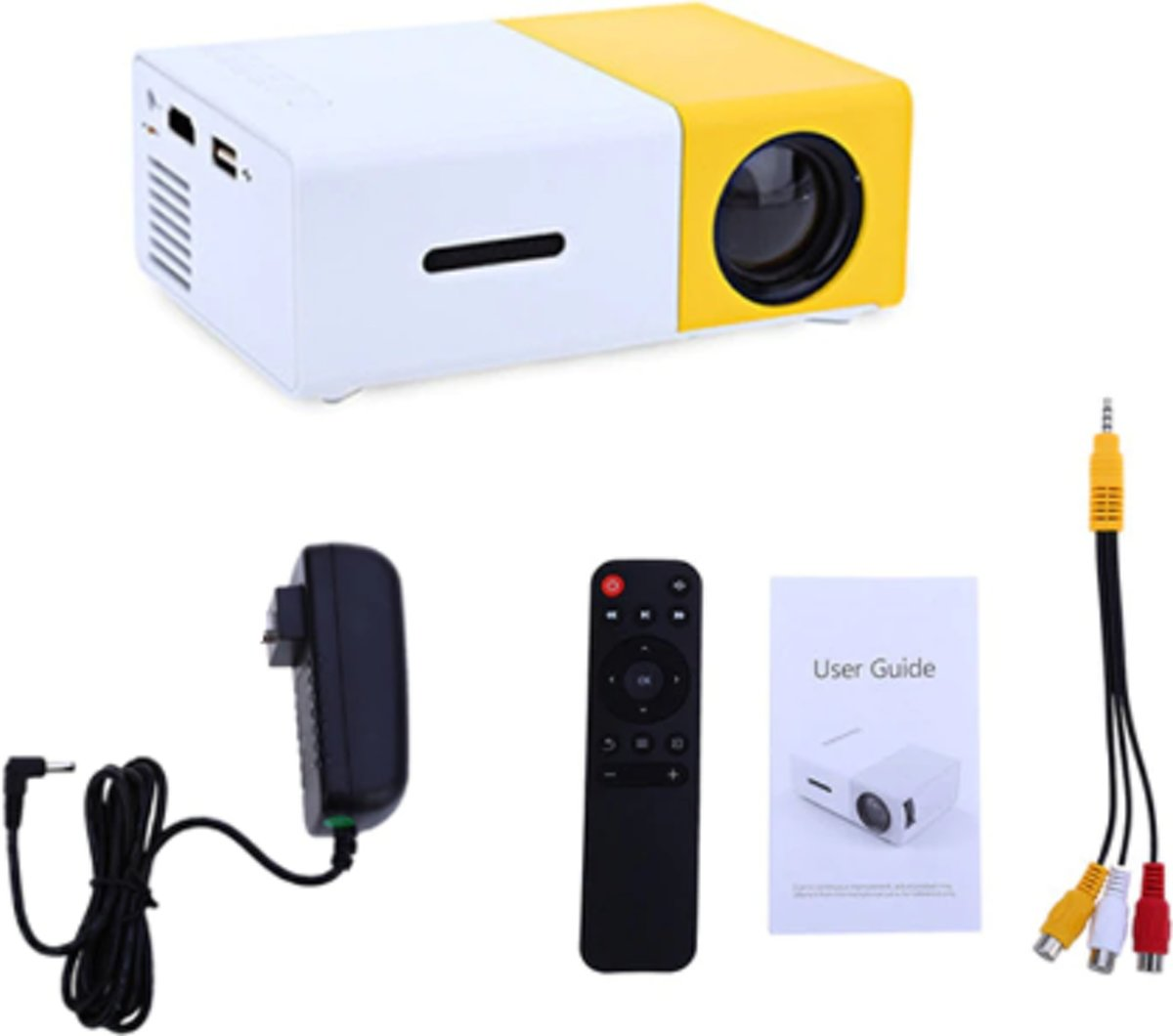 Mini Beamer - LED Projector - Beamer - Mini Projector - HDMI - USB kopen