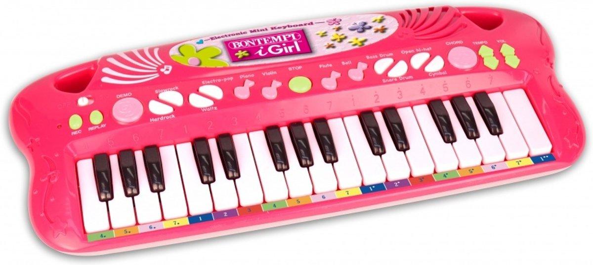 Bontempi Keyboard Roze 43,5 Cm kopen