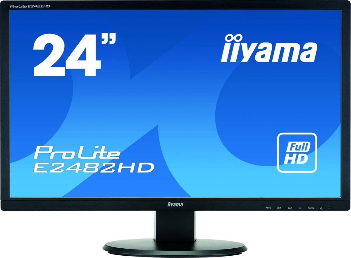 Iiyama ProLite E2482HD-B1 - Full HD Monitor