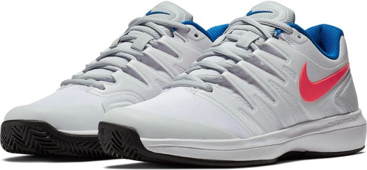 60931149f7a bol.com | Air Zoom Prestige Clay Tennisschoenen White Lava