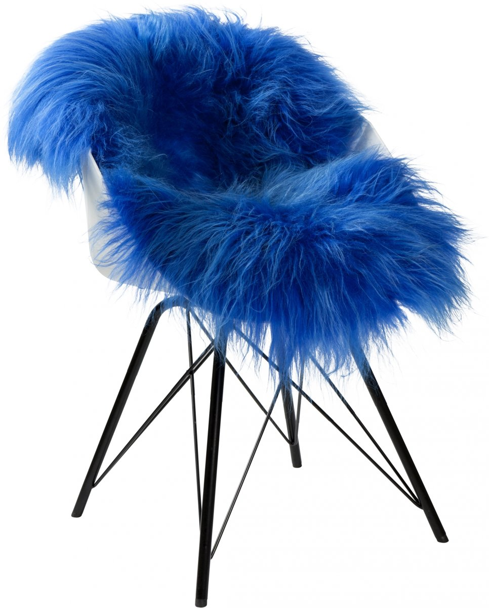 Dyreskinn Schapenvacht ijslands blauw 90-110cm lengte / 60-70cm breedte kopen