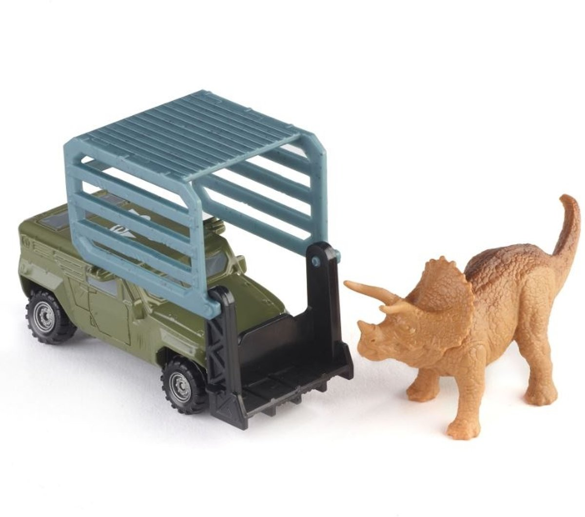Mattel Jurassic World Dinosaurus Met Truck Bruin, Groen 17cm kopen