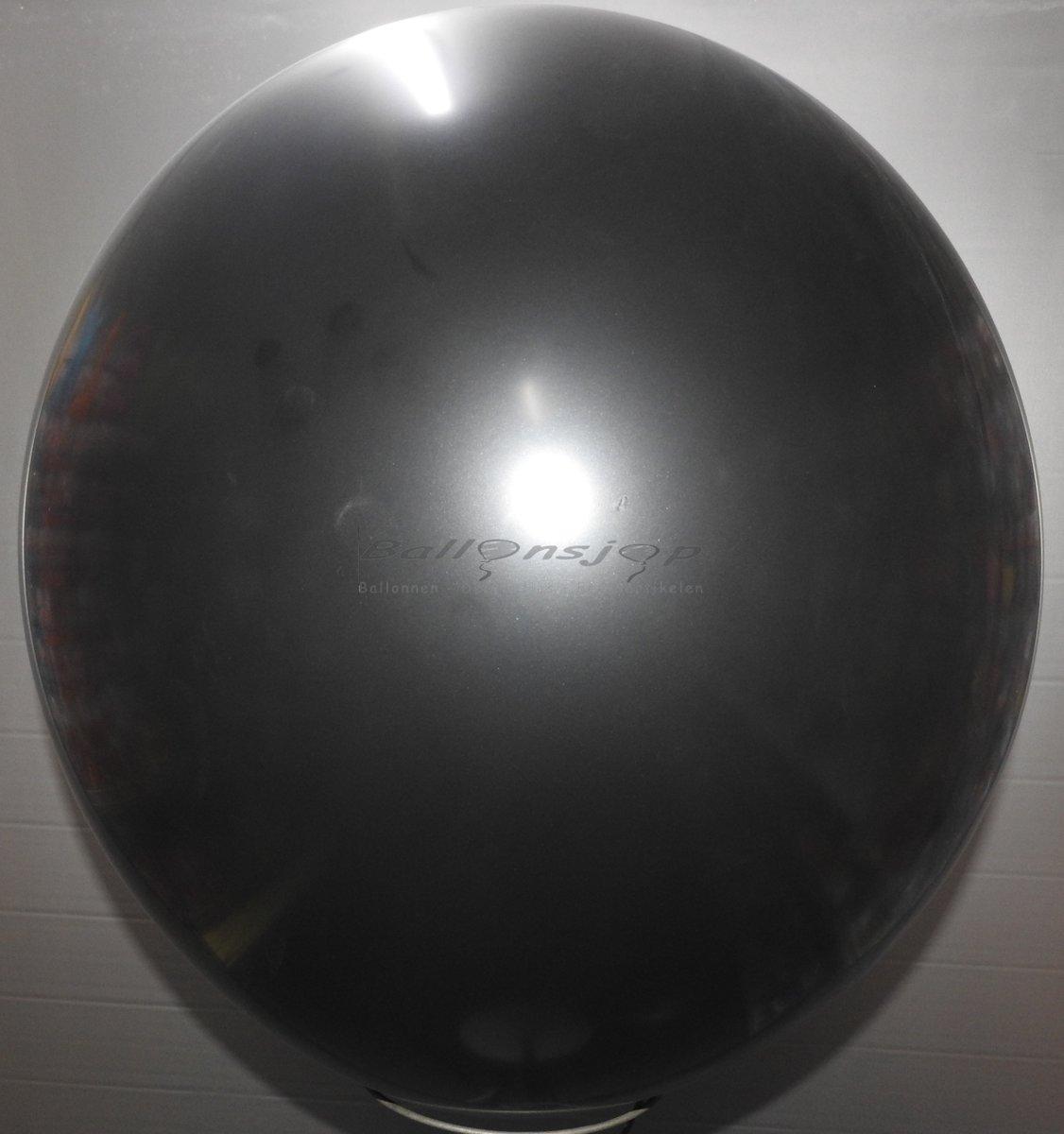 reuze ballon 60 cm  24 inch zwart
