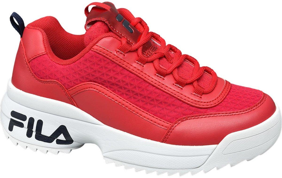 9de22a4aa56 Top Honderd | Fila Dames Rode Fila chunky sneaker - Maat 36 - Fila