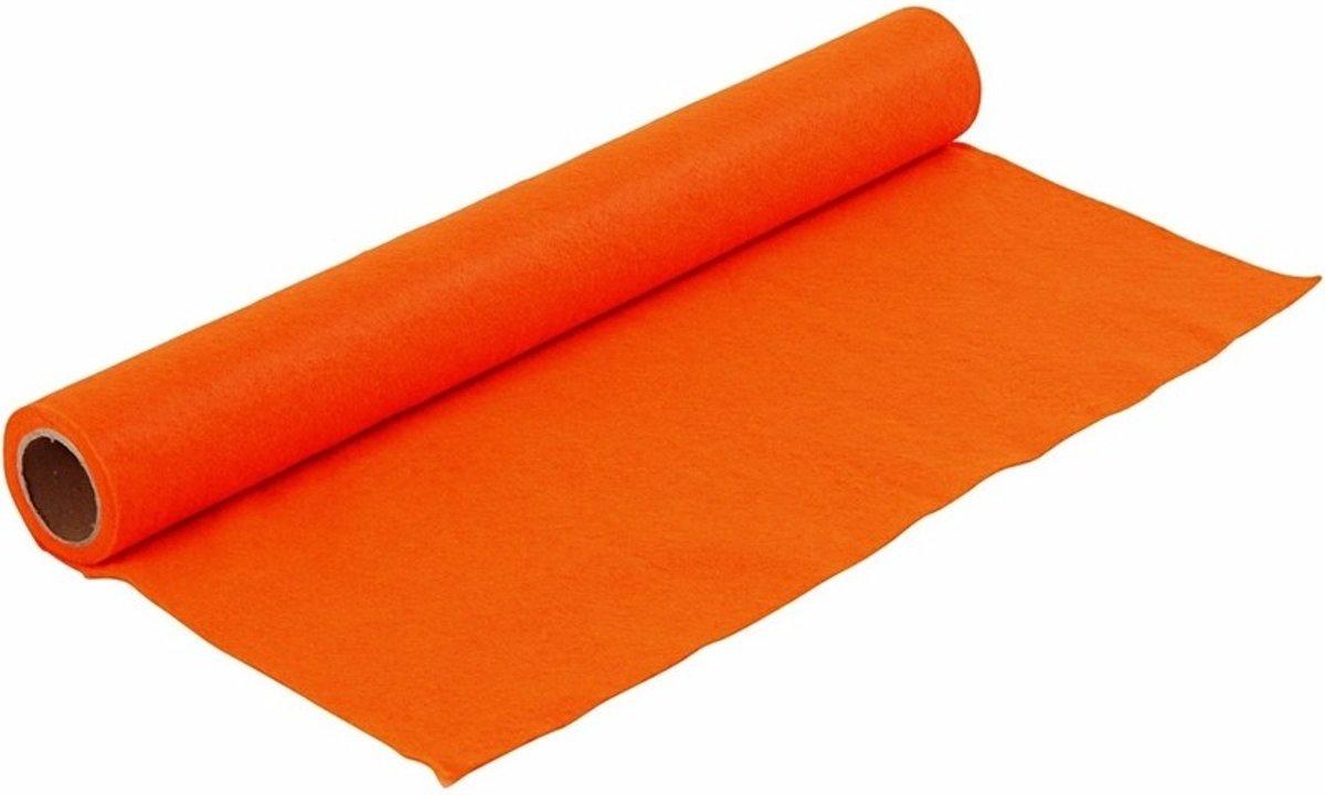 Hobby vilt oranje 1,5 mm dik kopen