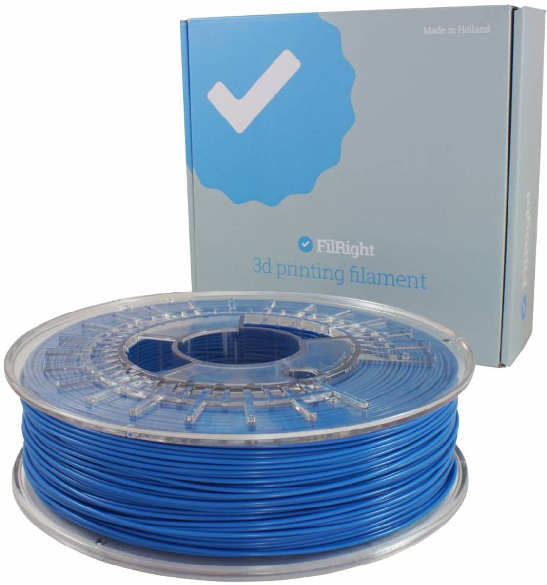 FLEX filament - 1.75mm - 500 g - Blauw - FilRight Designer