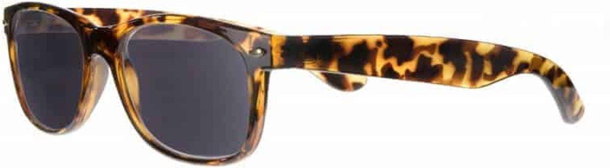 Icon Eyewear RBD013 WayeFarer Zonneleesbril +1.50 - Tortoise - UV400 kopen