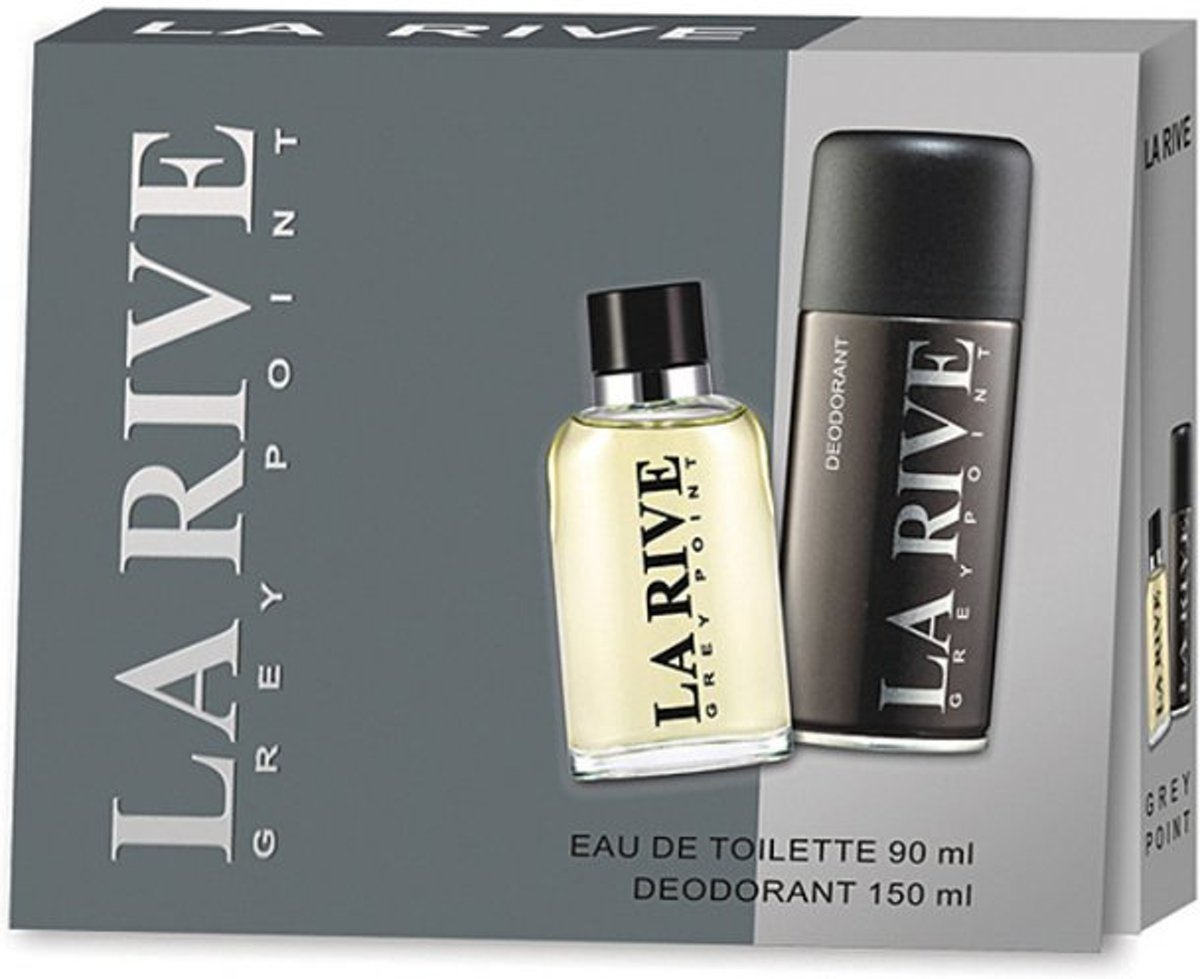 La Rive Grey Point Gift Set 2 St Extreme Story For Men Edt 75ml