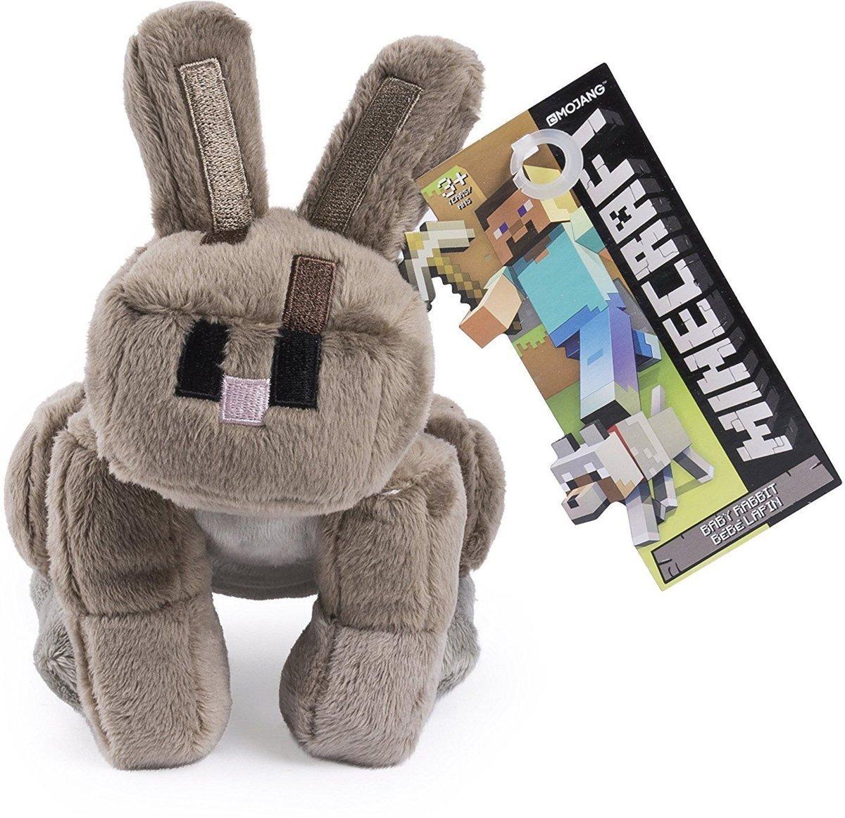 Minecraft Jinx Rabbit - Pluche Konijn Knuffel