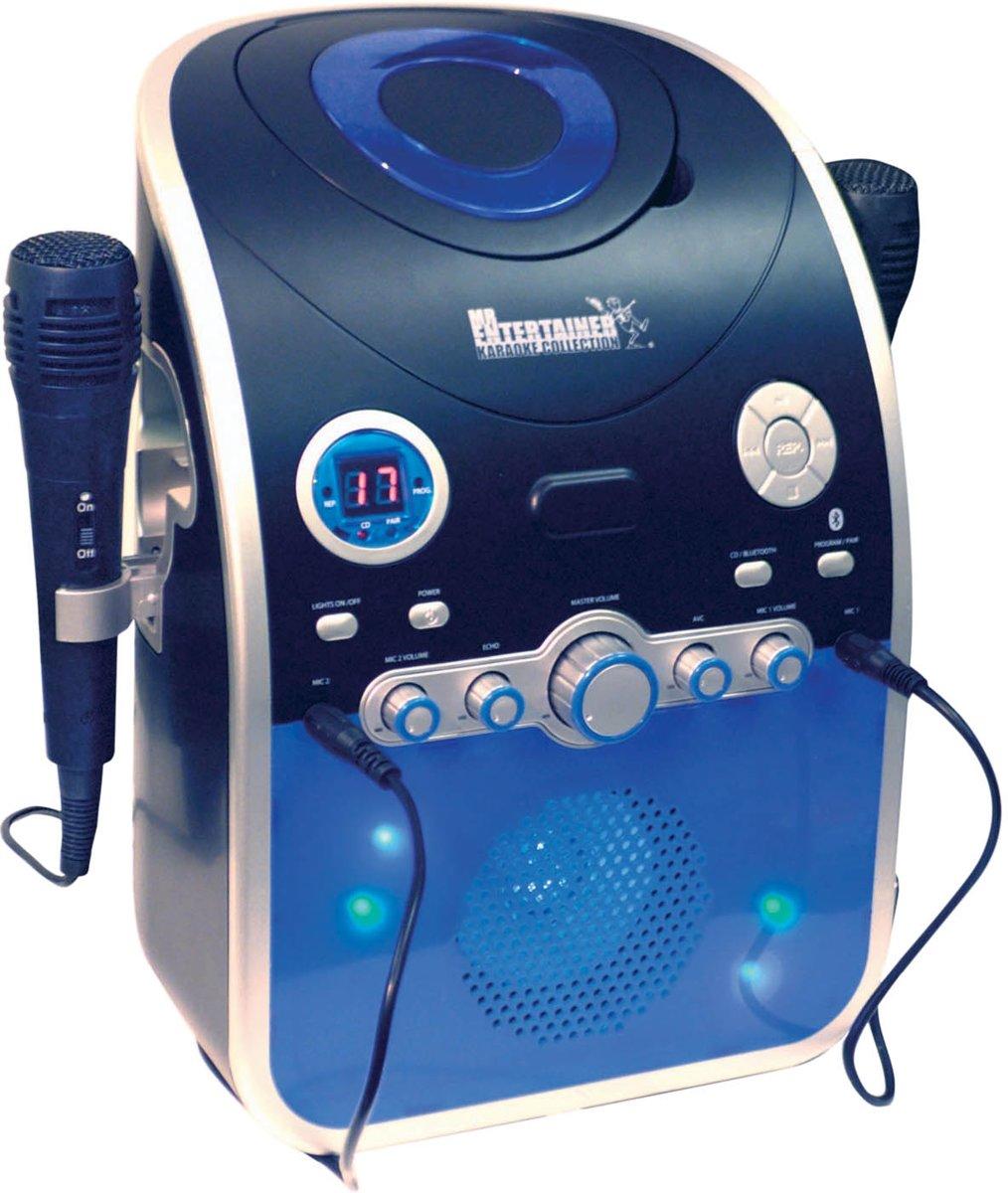 Karaoke Machine CDG met Bluetooth en disco LED verlichting