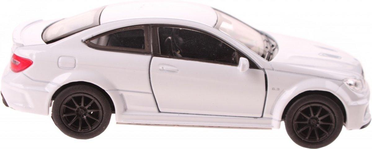 schaalmodel Mercedes C63 AMG Coupe wit 11,5 cm kopen