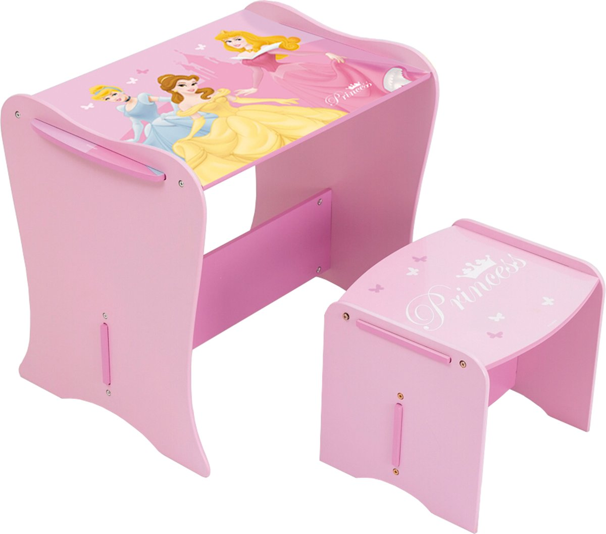 Hello Kitty Bureaustoel.Disney Worlds Apart Bureau Met Bureaustoel Roze